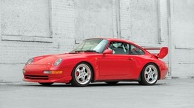 porsche, carrera, red, side view - wallpapers, picture