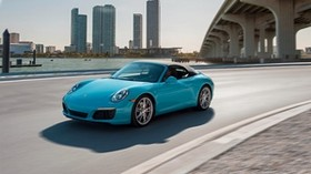 porsche, carrera s, side view, motion - wallpapers, picture
