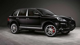 porsche cayenne, black, car - wallpapers, picture