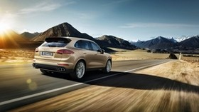porsche, cayenne, turbo s, 2015 - wallpapers, picture
