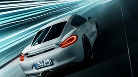 porsche cayman, race, style - wallpapers, picture