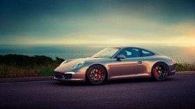porsche, beautiful, asphalt, sunset, 911 - wallpapers, picture