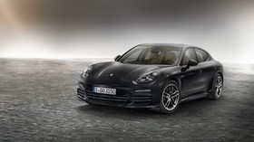 porsche, panamera, edition, 970, black, side view - wallpapers, picture