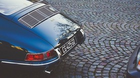 porsche, porsche 911, rear view - wallpapers, picture