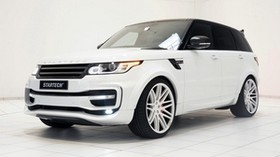 range rover, 2014, startech, white, side view - wallpapers, picture