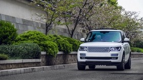 range rover, white, SUV, car - wallpapers, picture