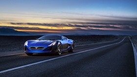 rimac, electric car, concept - wallpapers, picture