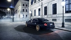 rolls-royce, ghost, 2015, rear view - wallpapers, picture