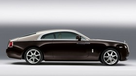 rolls-royce, coupe, side view, car - wallpapers, picture