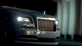 rolls-royce, front view, headlights, bumper - wallpapers, picture