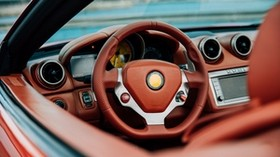 steering wheel, car, luxury, management - wallpapers, picture