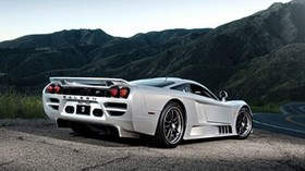 saleen, s7, rear view, silver - wallpapers, picture