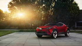 scion, c-hr, concept, side view - wallpapers, picture