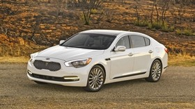 sedan, premium class, kia, 2015 - wallpapers, picture