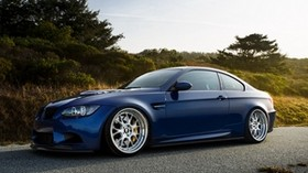 blue, side view, e92, bmw, laguna blue, bmw, m3 - wallpapers, picture