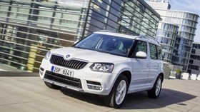skoda yeti, white, 2014, auto, new, stylish - wallpapers, picture