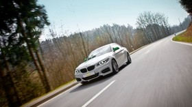 sl, 2-series, bmw, white, auto, movement - wallpapers, picture