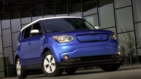 soul ev, crossover, kia, 2015, front view - wallpapers, picture