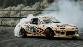 sports car, drift, race, tuning - wallpapers, picture
