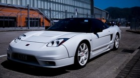 sports car, side view, white - wallpapers, picture