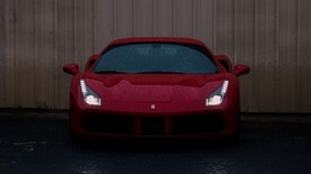 sports car, front view, headlight - wallpapers, picture