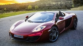 spyder, beautiful, new, mclaren, mp4-12c, car, 2012 - wallpapers, picture