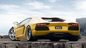 style, auto, yellow, sport, lamborghini - wallpapers, picture