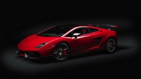 stylish, car, red, side view - wallpapers, picture