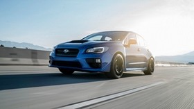 subaru, car, speed, movement, side view - wallpapers, picture