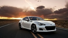 subaru brz, subaru, car, road - wallpapers, picture