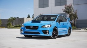subaru, wrx, ​​sti, side view - wallpapers, picture
