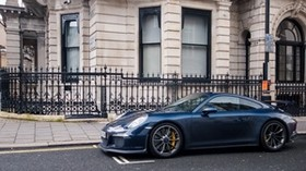 supercar, 991, london, blue, gt3, porsche - wallpapers, picture
