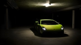 superleggera, lp570-4, green, gallardo, lamborghini - wallpapers, picture