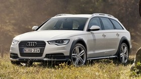 tdi, a6, allroad, car, front view - wallpapers, picture