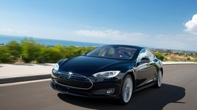 tesla, model s, tesla model s, road, movement - wallpapers, picture