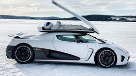 top gear, koenigsegg, agera r, the stig, some say - wallpapers, picture