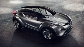 toyota, c-hr, side view, gray - wallpapers, picture