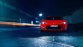 toyota, gt86, red, front view - wallpapers, picture