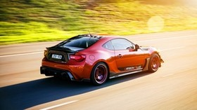 toyota gt 86, toyota, red, side view - wallpapers, picture