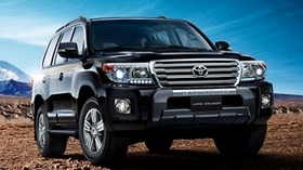 toyota, land cruiser, 200, vx-r, off-road vehicle, front view - wallpapers, picture