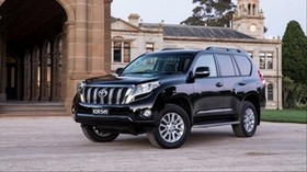 toyota, land cruiser, prado, side view - wallpapers, picture