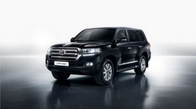 toyota, land cruiser, side view - wallpapers, picture