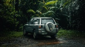 toyota rav4, toyota, SUV, jungle, tropics - wallpapers, picture