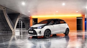 toyota, yaris, side view - wallpapers, picture