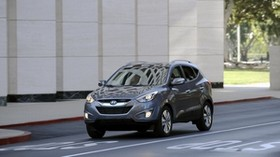 tucson, hyundai, crossover, car, design, style, gray - wallpapers, picture
