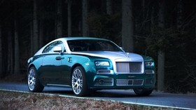 tuning, mansory, coupe, rolls-royce, wraith - wallpapers, picture