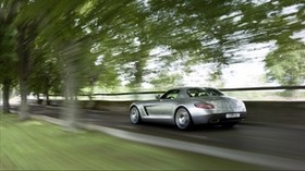 acceleration, speed, blurry, mercedes, sls, amg, mercedes, sls - wallpapers, picture