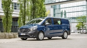 vito, mercedes, auto, passenger-and-freight, blue - wallpapers, picture
