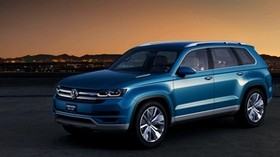 volkswagen crossblue concept - wallpapers, picture