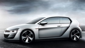 volkswagen, golf, design vision, concept, gray, gti - wallpapers, picture